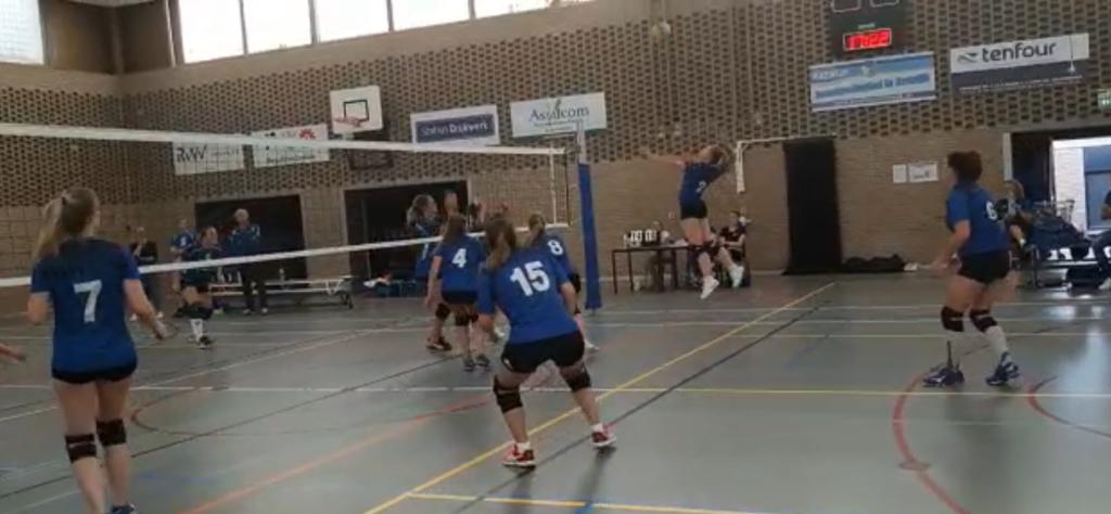Aanval Habithuis RVV dames1 tegen Waterlanders